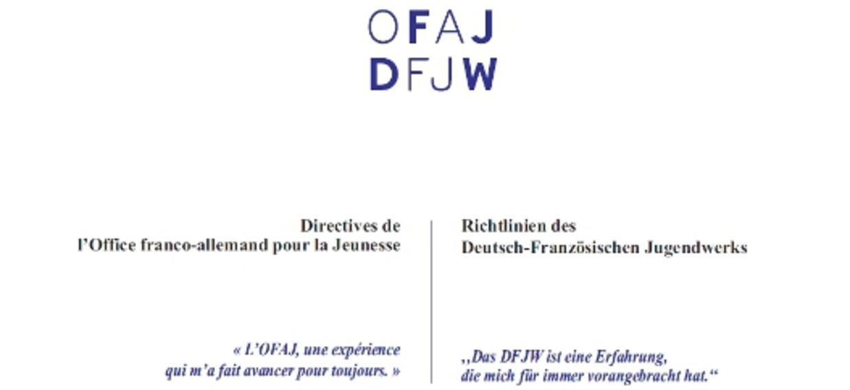 Directives - Richtlinien 2012