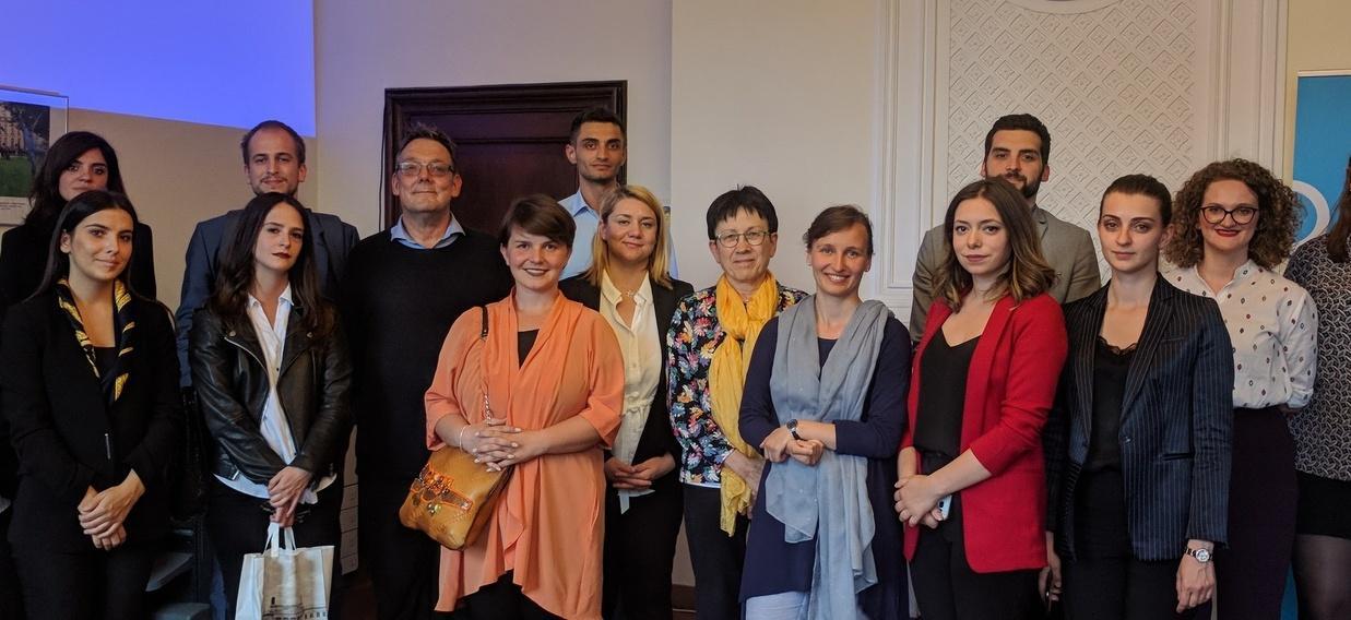 Des jeunes diplomates de nouveau en visite à l'OFAJ