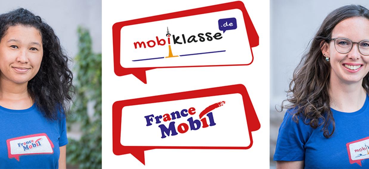 Illustration MobiklasseDe FranceMobil Tandemwoche Mr