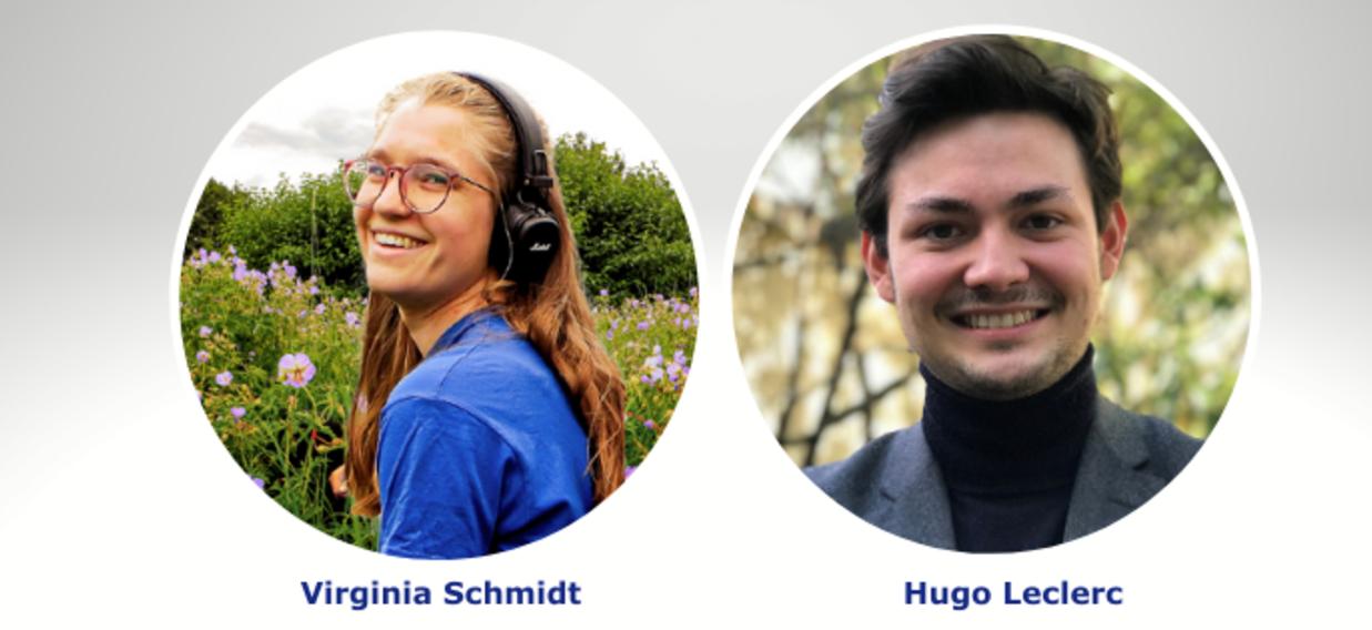Interview Virginia Schmidt & Hugo Leclerc