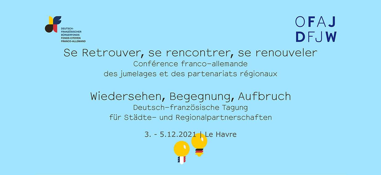 Städtepartnerschaftstagung 2021 Le Havre