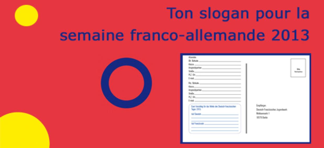 UNE Concours Slogan