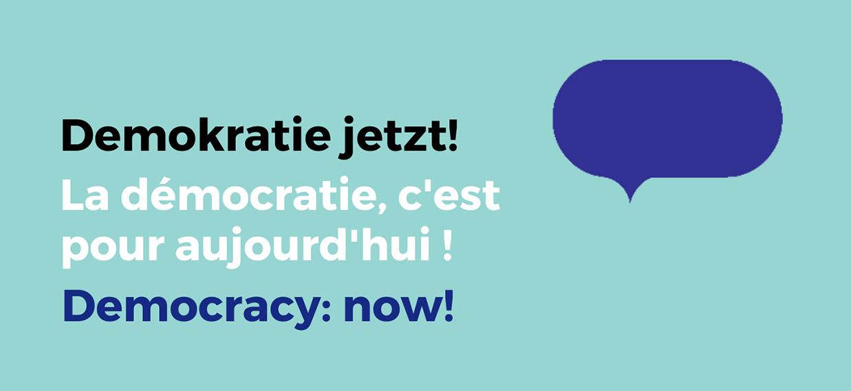 demokratie jetzt