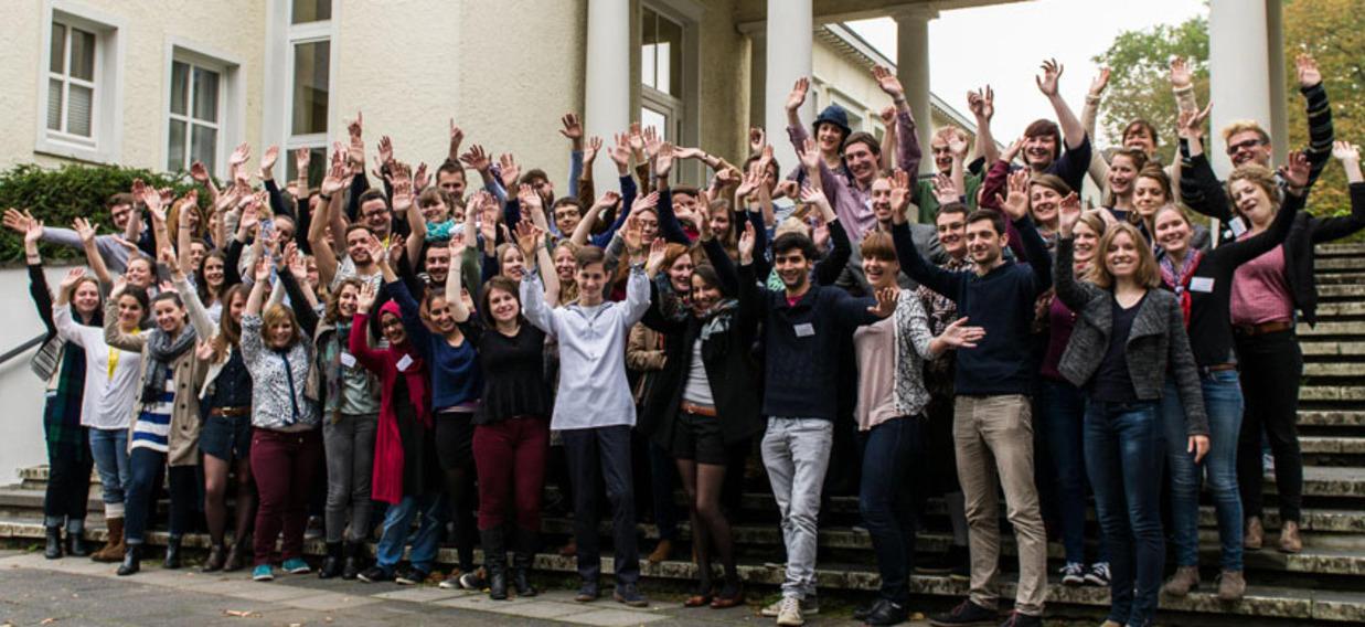 photo de groupe du seminaire des Jeunes Ambassadeurs OFAJ 2014-2015