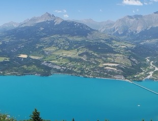 Lac Serre Poncon Belv D Re Pierre Arnoux Papagon