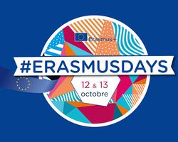 Logo ErasmusDays 2018 Bleu