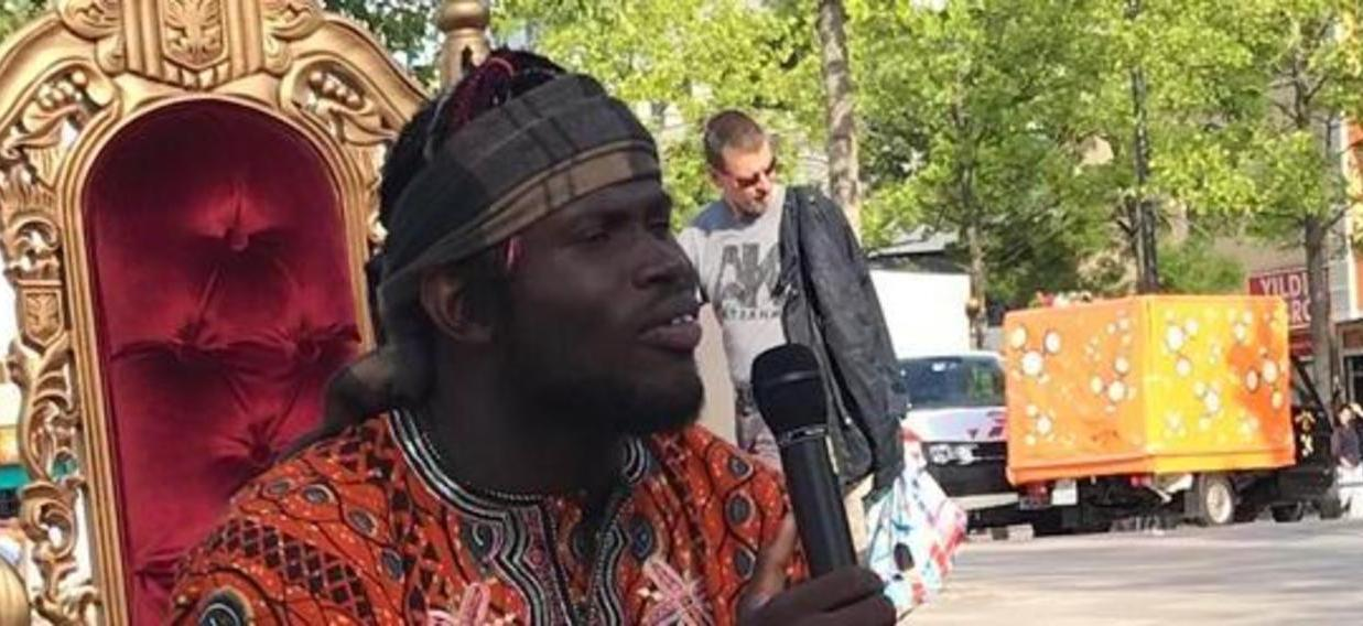 Marcel Codjo Noubouke Beim Erz Hlen