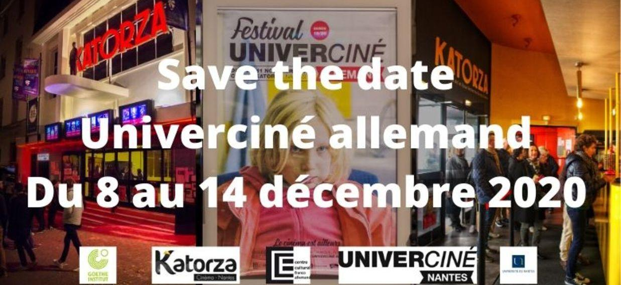 Save the Date Festival Univerciné allemand 2020