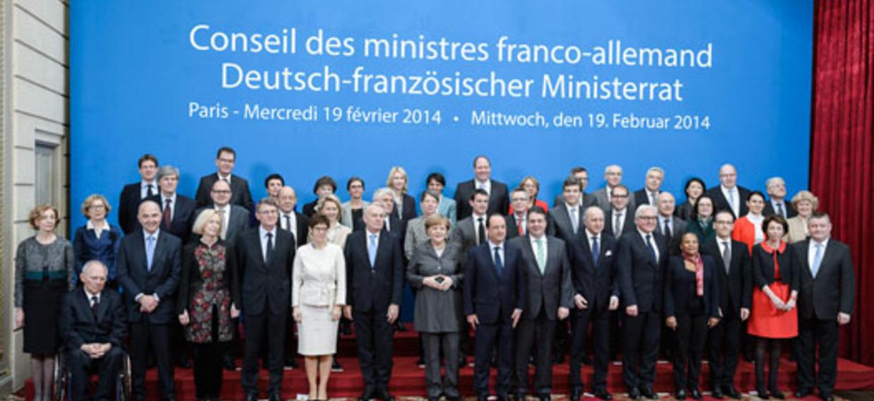 16ème Conseil des ministres franco-allemand