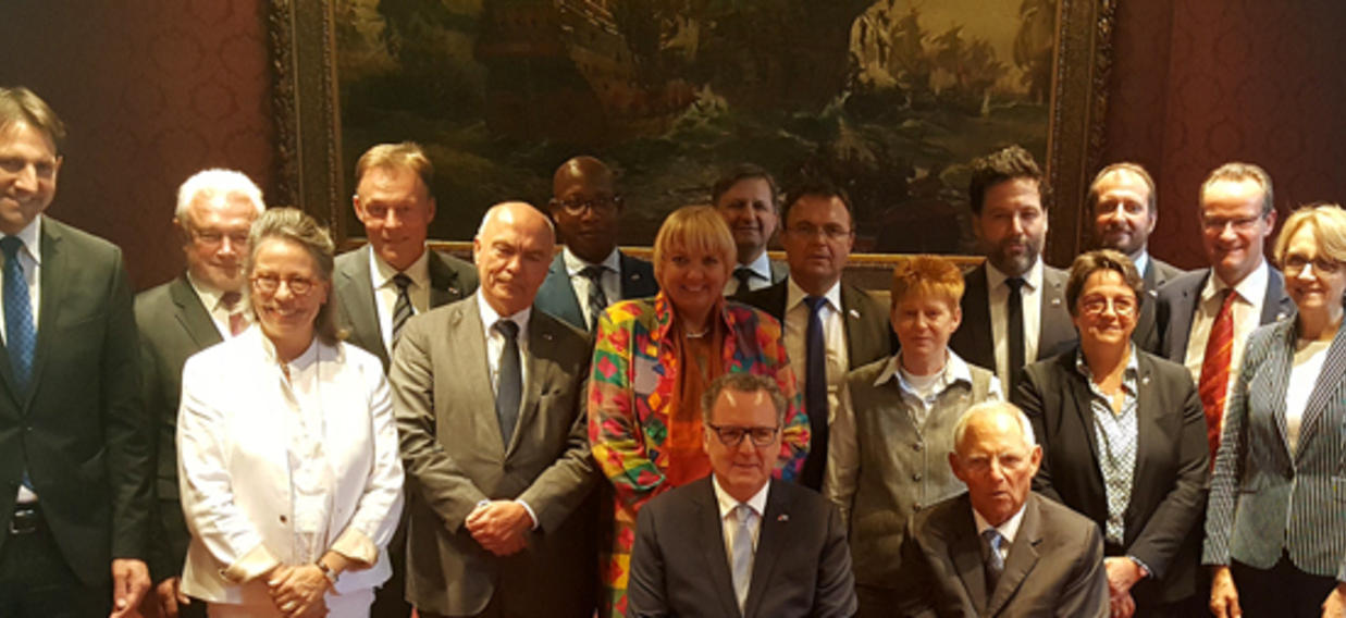 Reunion Commune Du Bureau De L Assemblee Nationale Et Du Praesidium Du Bundestag Le 20 Septembre 2018