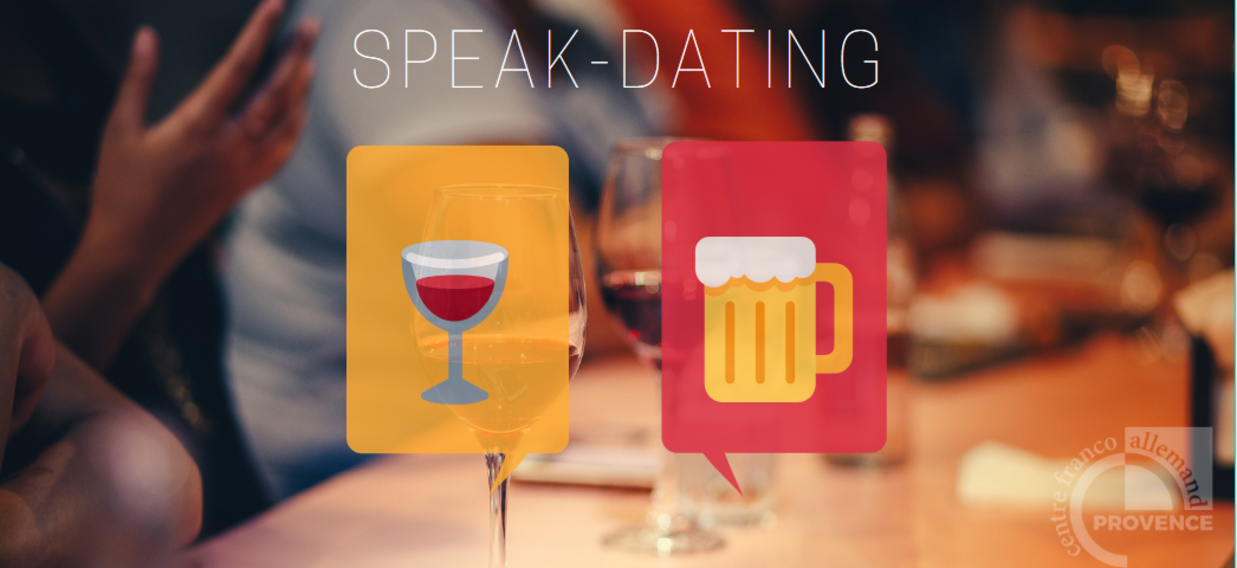Speak Dating Dunkelblau