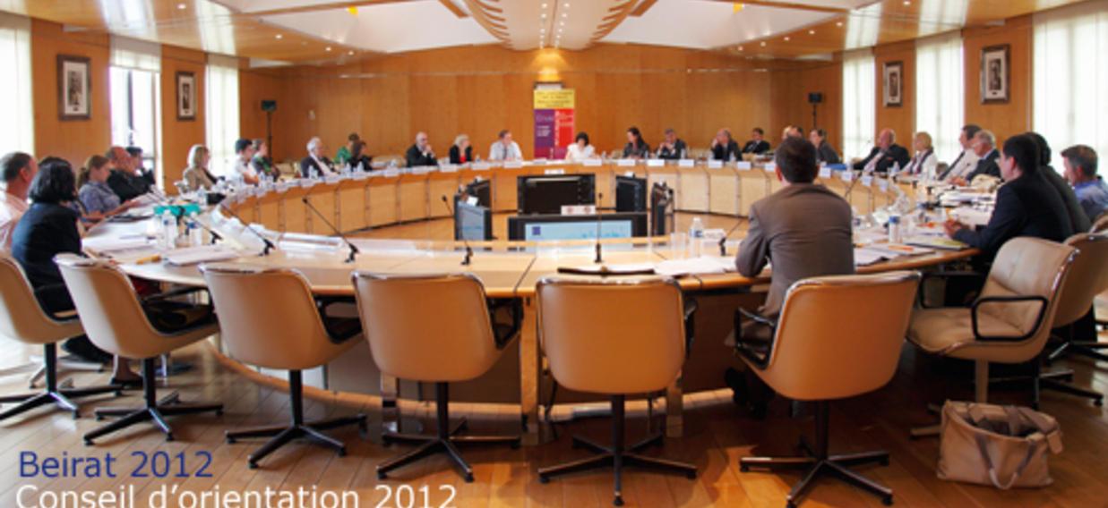 UNE Conseil d'orientation / Beirat 2012