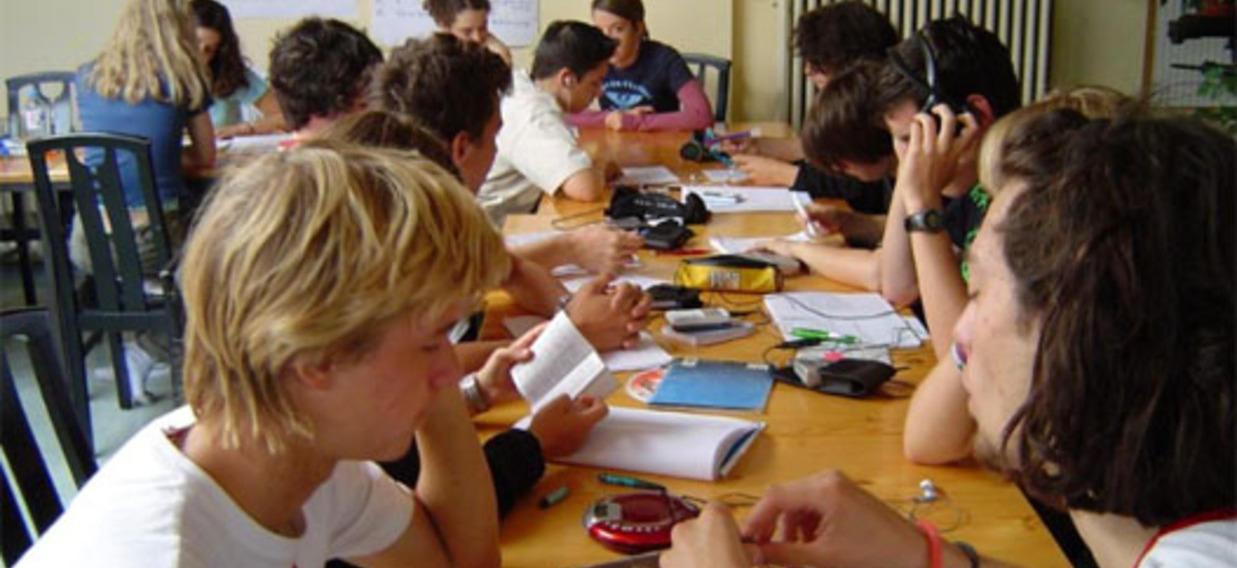 Participants d'un cours binational