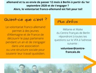 Volontariat Franco Allemand 20 21