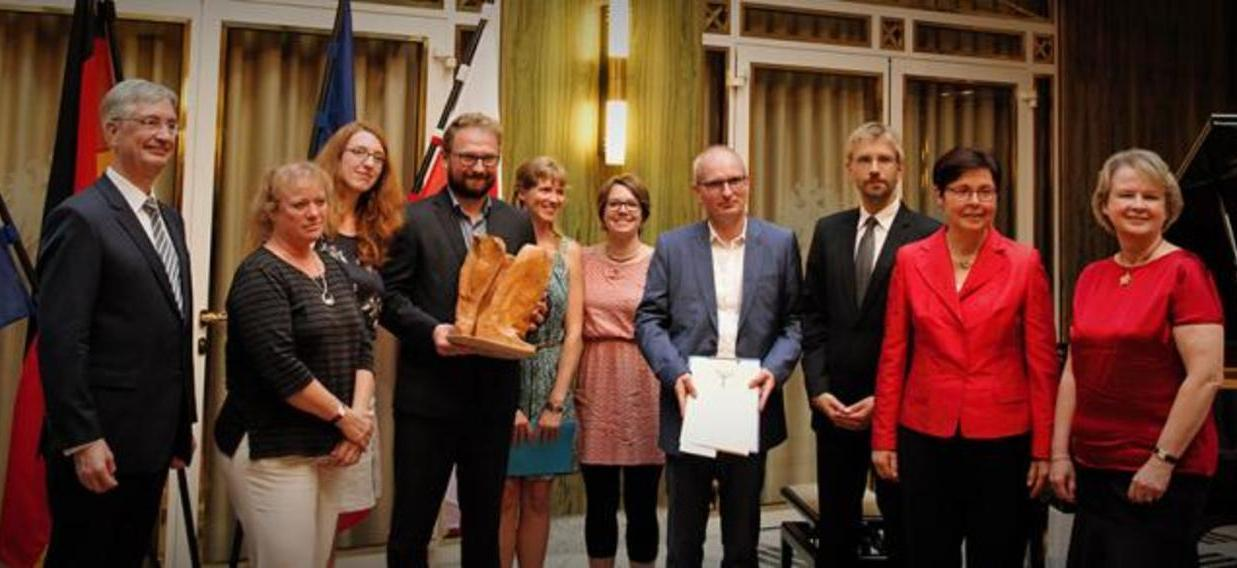 Weimarer Dreieck Preisverleihung 2017