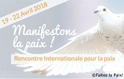 4 Tage für den Frieden