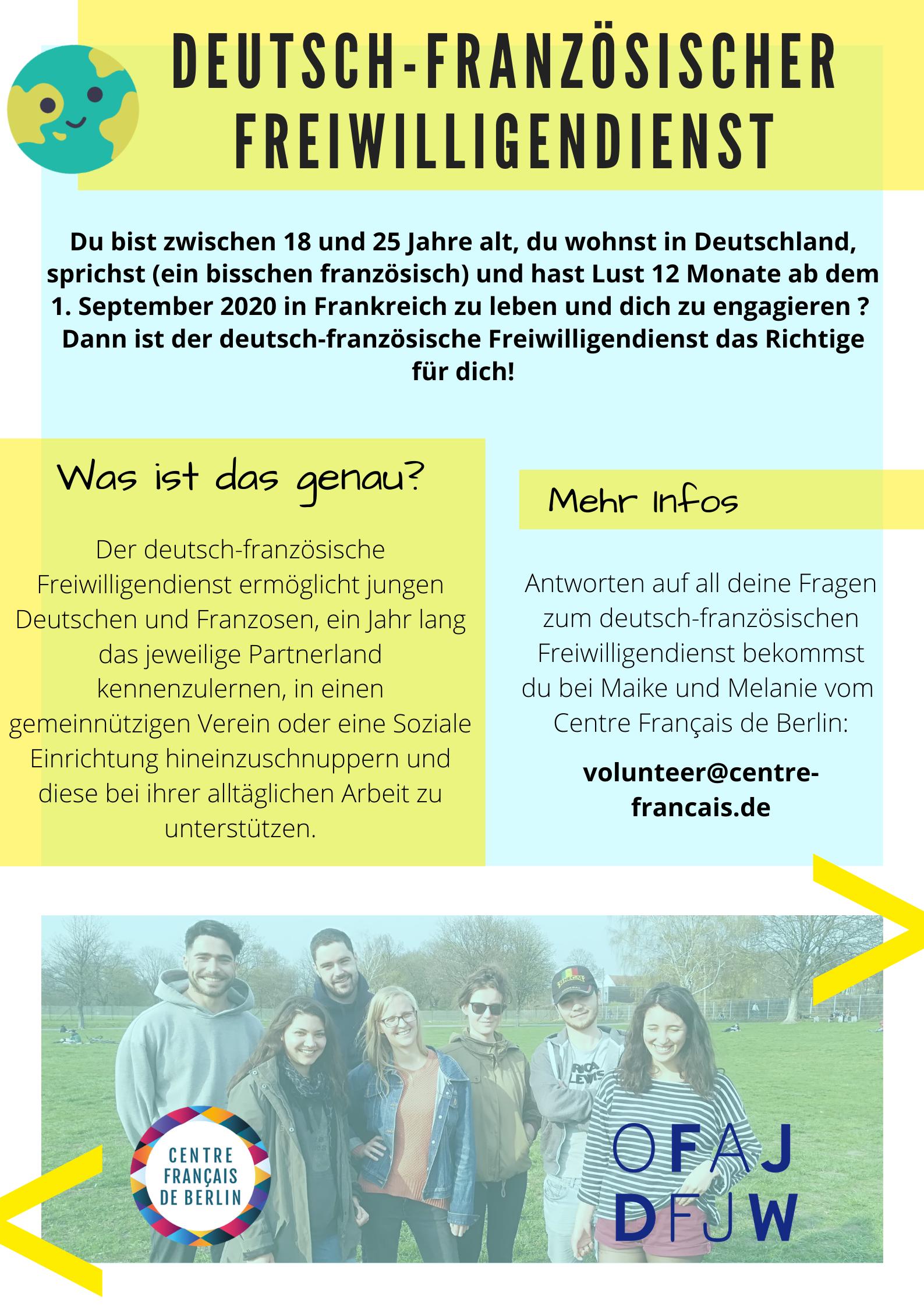 Deutsch Franz Sischer Freiwilligendienst