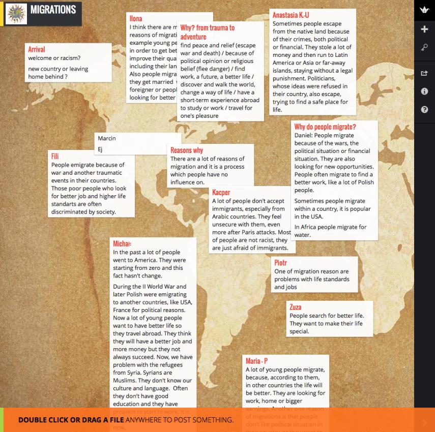 Die interaktive Karte, passenderweise zum Thema Migration, hat den Preis gewonnen.